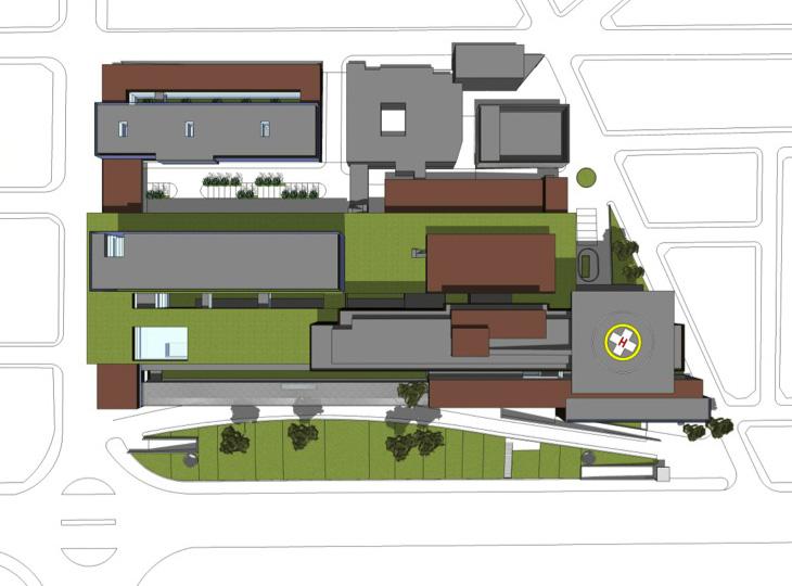 FASE 9: Construcción de cubierta de aparcamiento y urbanización