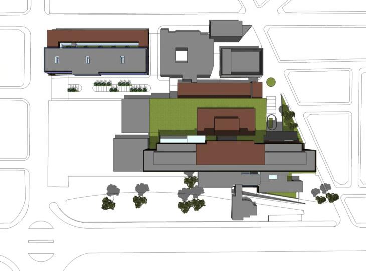 FASE 2: Construcción de instalaciones y  Edificio de Salud Mental
